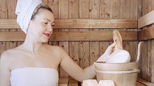 Wellness und Sauna